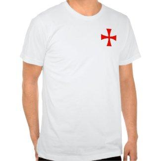 Knights Templar Cross on Pocket Shirt shirt
