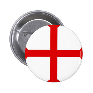 Knights Templar Cross Pinback Button