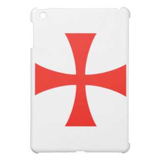 Knights Templar Cross Red Case Cover For The iPad Mini