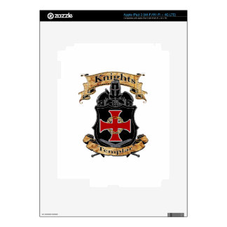 Knights Templar Decals For iPad 3