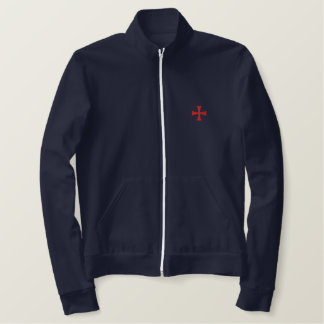 Knights Templar Embroidered Track Jacket