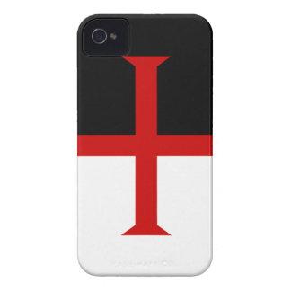 Knights Templar Flag iPhone 4 Case