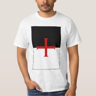 Knights Templar Flag T-Shirt