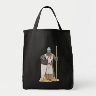 Knights Templar Grocery Tote Bag