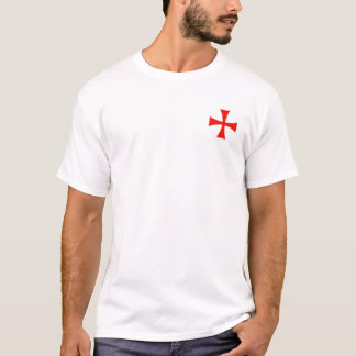 Knights Templar Helm, Mace and Sword Shirt