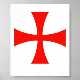 Knights Templar Image Poster