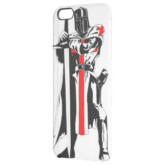 Knights Templar iPhone 6/6s Plus Clearly™ Case Uncommon Clearly™ Deflector iPhone 6 Plus Case
