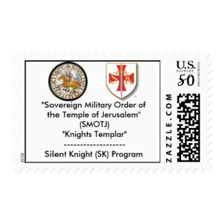 "Knights Templar Logo, skimage, ""So... - Customized Postage"