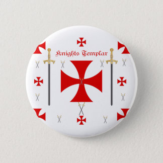 Knights Templar Pinback Button