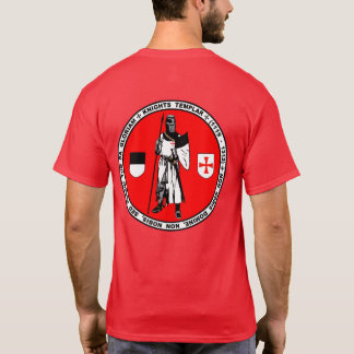 Knights Templar Posing Seal Shirt