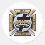 Knights Templar Products Classic Round Sticker