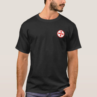Knights Templar Round Seal Shirt
