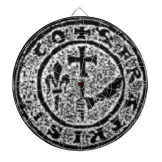 Knights Templar Seal #2 Dartboard With Darts