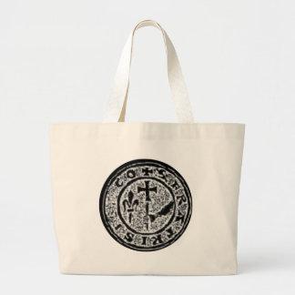 Knights Templar Seal #2 Jumbo Tote Bag