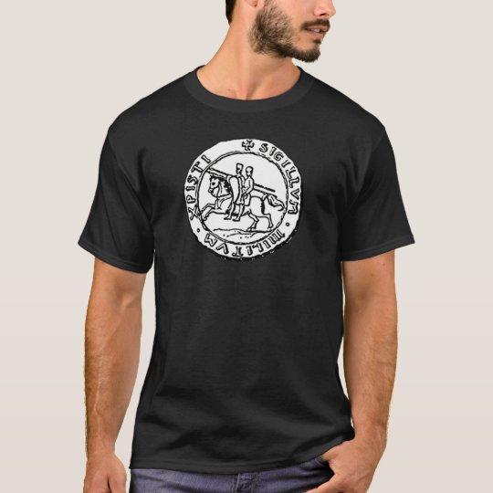 Knights Templar Seal T-Shirt