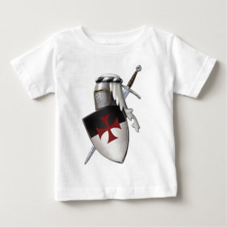 Knights Templar shield Baby T-Shirt