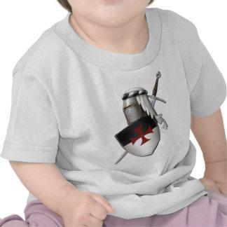 Knights Templar shield Tee Shirt
