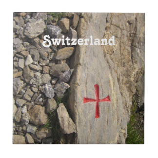 Knights Templar Switzerland Ceramic Tile