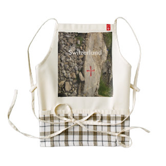 Knights Templar Switzerland Zazzle HEART Apron