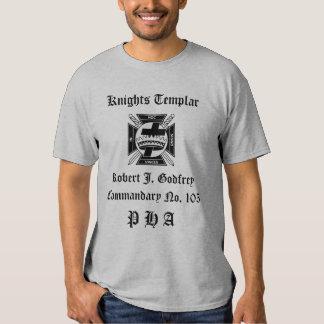 Knights Templar T Shirt
