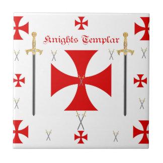Knights Templar Ceramic Tile
