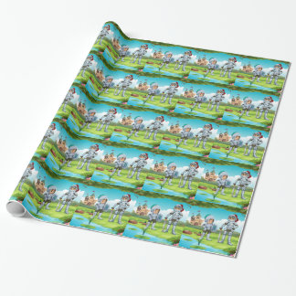 Knights Wrapping Paper