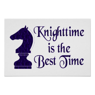 Knighttime Poster