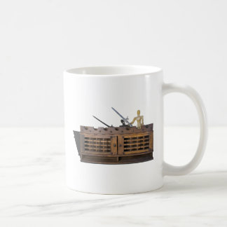 KnightWithSwordOnBattlement012915.png Coffee Mug