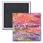 Knit 1, Purl 2, Breathe 3 Magnet