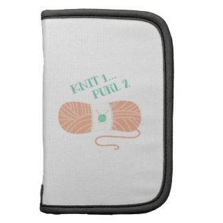 Knit 1 Purl 2 Folio Planner