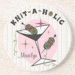 Knit-A-Holic Coaster