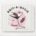 Knit-A-Holic Mouse Pad