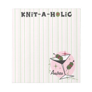 Knit-A-Holic Notepad