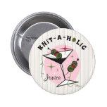 Knit-A-Holic Pin