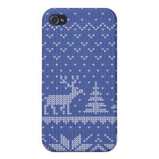 knit blue cases for iPhone 4