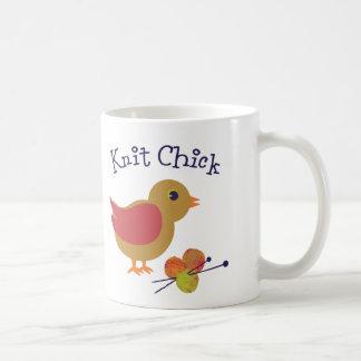Knit Chick Coffee Mug