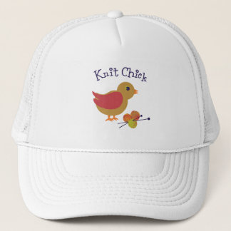 Knit Chick Trucker Hat