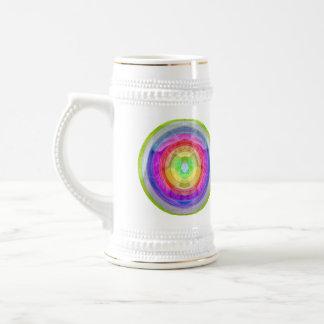 Knit Club - Rainbow Woolen Balls Beer Stein
