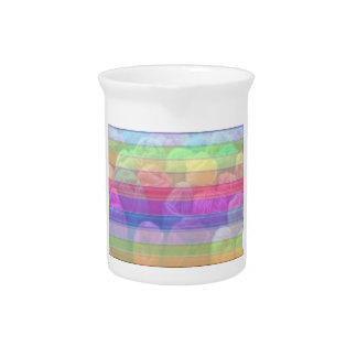 Knit Club - Rainbow Woolen Balls Drink Pitchers