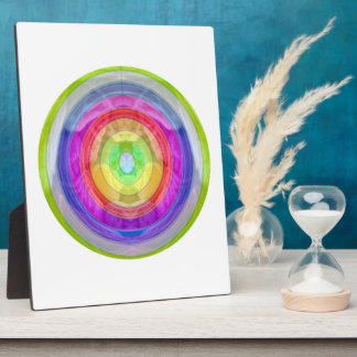 Knit Club - Rainbow Woolen Balls Display Plaque