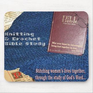 Knit & Crochet Bible Study Mouse Pad