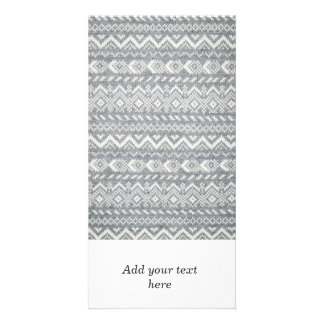 Knit fabric background card