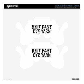KNIT FAST DYE YARN.png PS3 Controller Skin