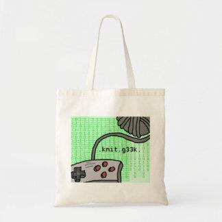 .knit.g33k. bag