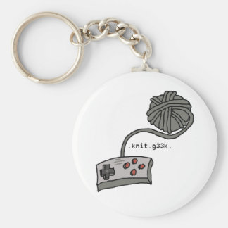.knit.g33k. keychain