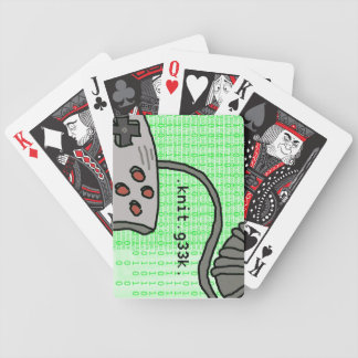 .knit.g33k. Playing Cards