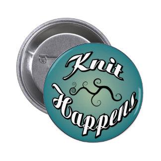 Knit Happens Button