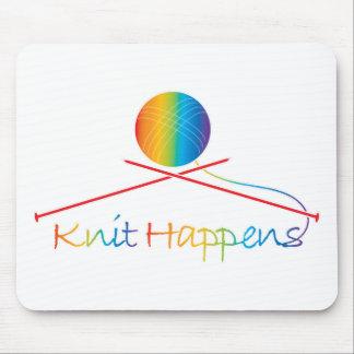 Knit Happens Mouse Pad