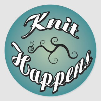 Knit Happens Stickers