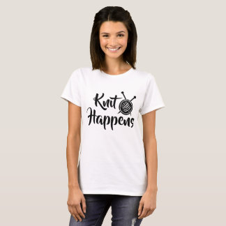 KNIT HAPPENS T-Shirt